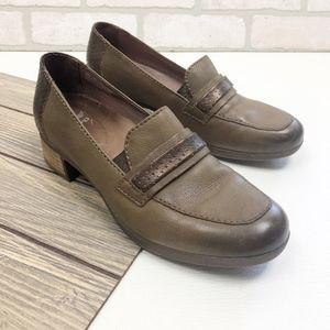 Dansko Women's Loafers Block Heel Size 41 / US 11